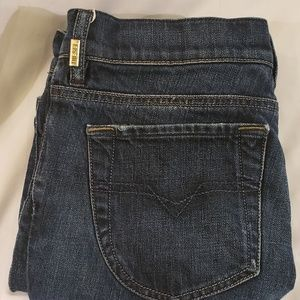 Diesel Jeans - Dark Denim Diesel LIV Straight Leg Jeans Sz 28/34